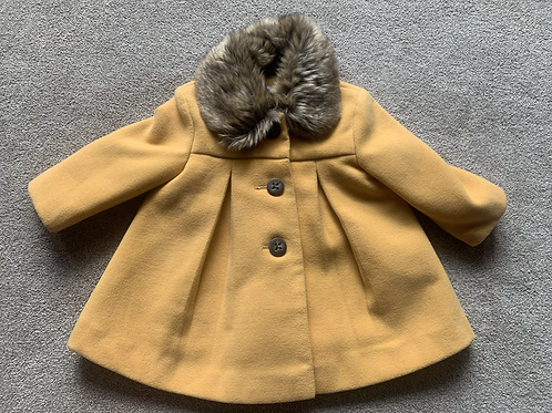 Up to 3m Mustard Coat
