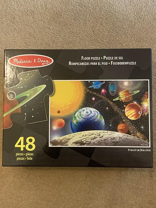 Melissa & Doug Space Puzzle New!