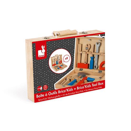 BRICO'KIDS TOOL BOX (WOOD)