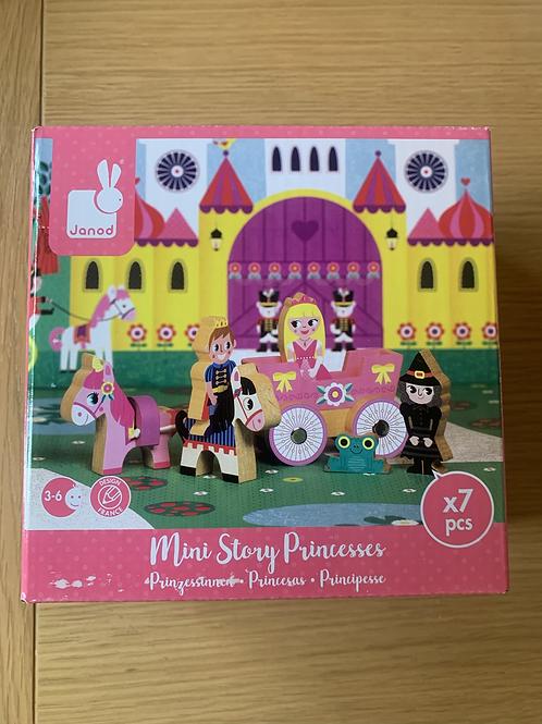 New! Janod Mini Story Princess