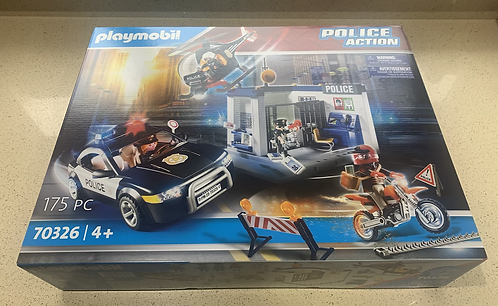 Brand New! Playmobil Police Action 70326