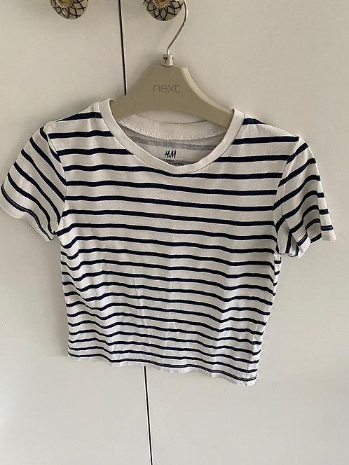 6-8y H&M Stripe T-Shirt