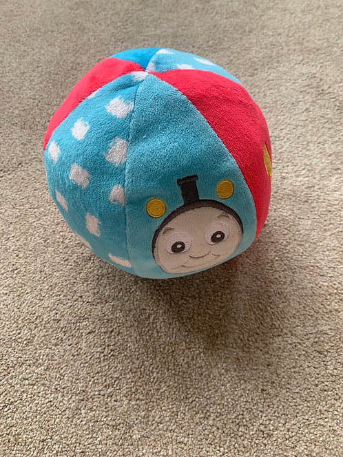Thomas the Tank Soft Toy with Rattle