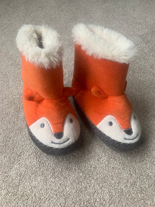 18-24m JoJo Maman Bebe Fox Slippers