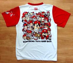 広島東洋カープ2013CS進出記念Tシャツ