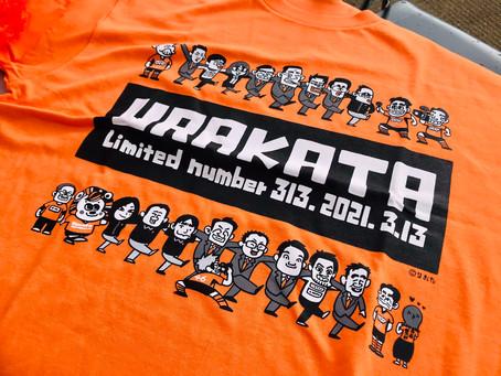 レノファ山口FC『URAKATA Tシャツ』by㈱スクエアイノベーション
