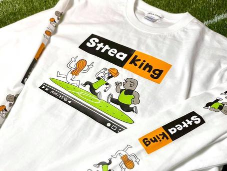 """【期間限定販売!りおた × PEGA-PEGA """"StreaKing""""】"""