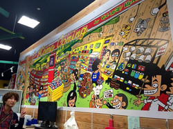 ホームカミング黒崎店 壁画