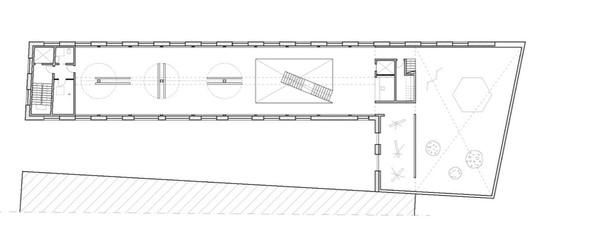 first floor  .  exhibiton spaces