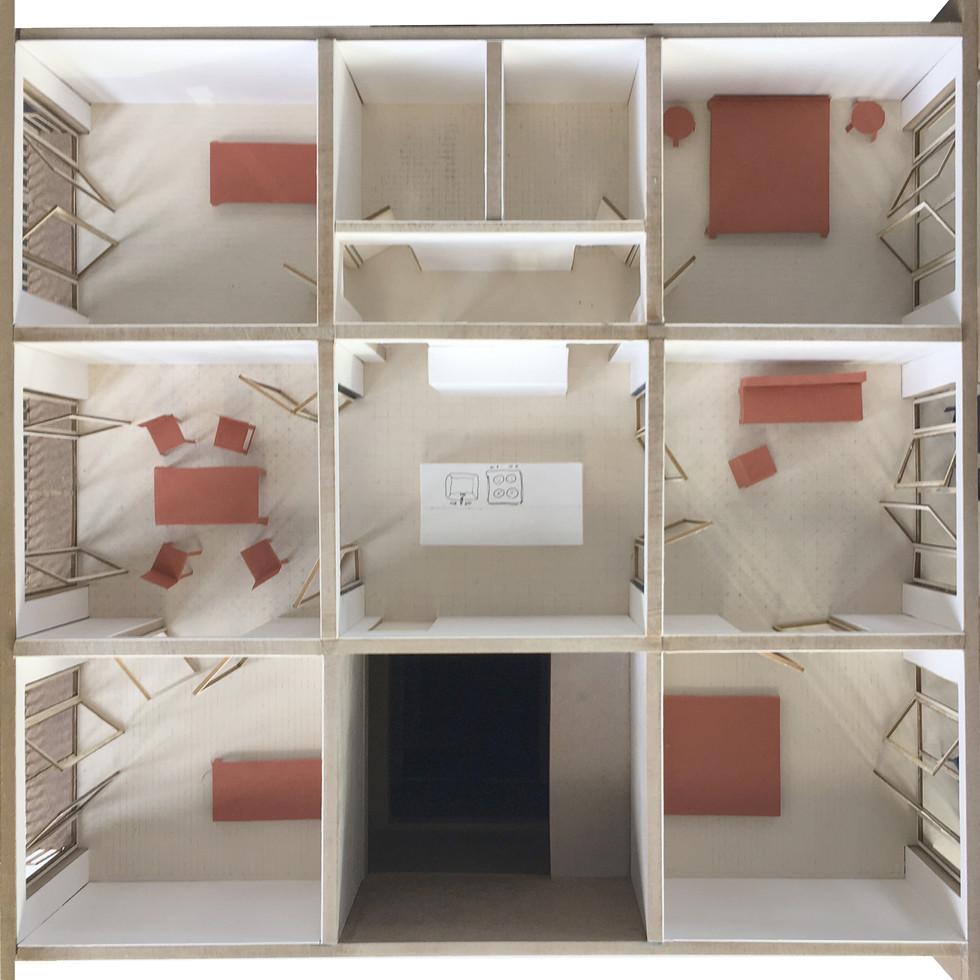 apartment model