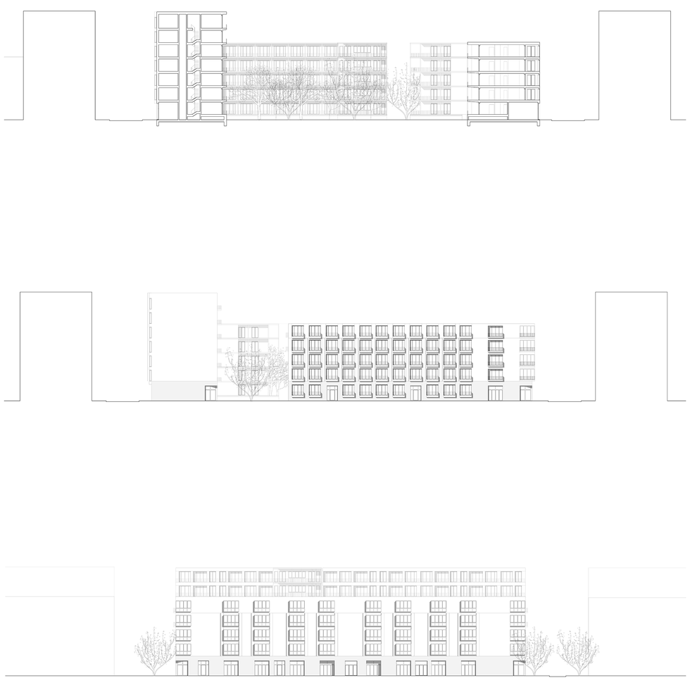 section . elevations