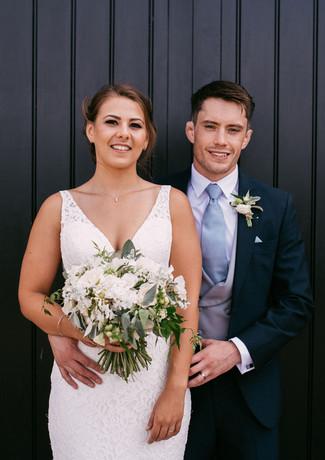 August wedding, Curradine Barns