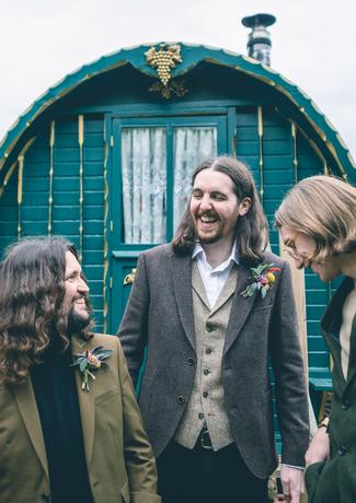 October wedding, The Fleece Inn