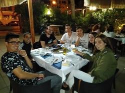 Cena bienvenida en Vasto
