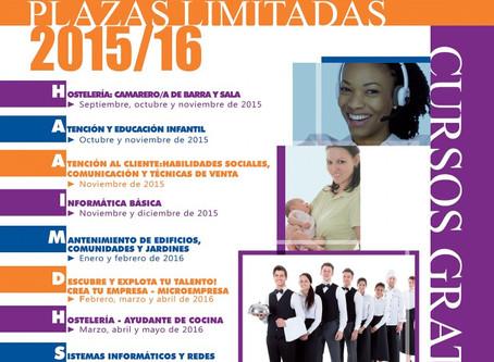 Cursos de Formación para el Empleo. Ayuntamiento de Las Rozas