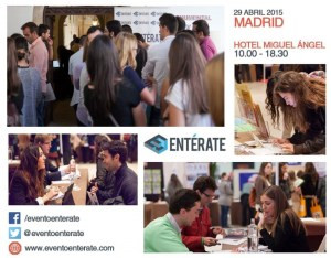 EVENTO ENTÉRATE – Madrid 2015