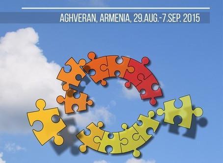 """CURSO DE FORMACIÓN """"ORGANISATIONAL MANAGEMENT"""" 2015 – AGHVERAN, ARMENIA"""
