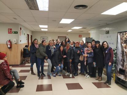 Participación en las Jornadas Contra la Violencia de Género organizado por el Ayuntamiento de Parla