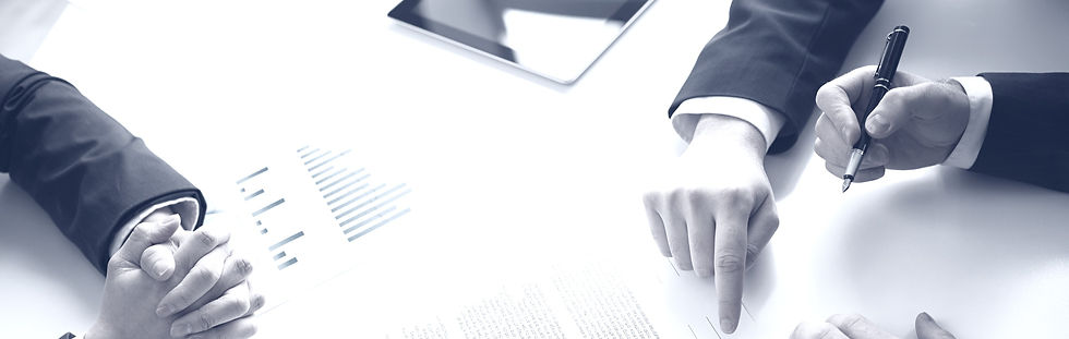 top-view-of-businessman-signing-document