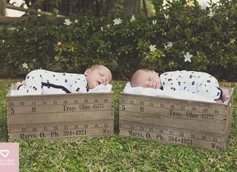 Alex & Hugo's Newborn Shoot | Durban