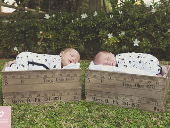 Alex & Hugo's Newborn Shoot | Durban