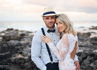 Rob & Cindy's beach Wedding | The KZN South Coast, South Africa