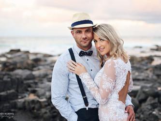 Rob & Cindy's beach Wedding | The KZN South Coast, South Africa
