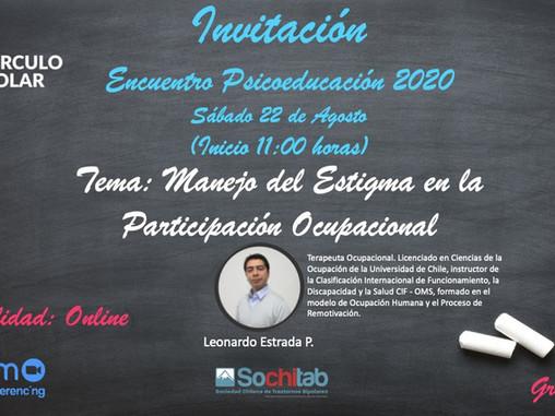 Novena Sesión online de Psicoeducación Círculo Polar 2020