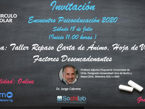 7 Séptima Sesión online de Psicoeducación Círculo Polar 2020