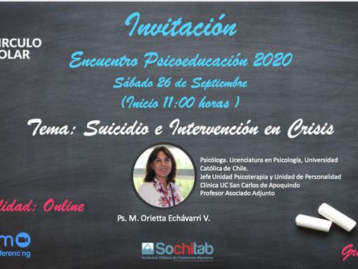 Décimo Primera Sesión online de Psicoeducación Círculo Polar 2020
