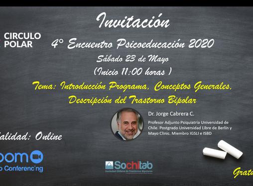 4ta Sesión online de Psicoeducación Circulo Polar 2020