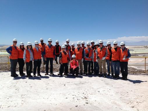 Visita IGSLI Planta Producción Litio Salar de Atacama