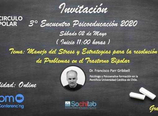 3era Sesión online de Psicoeducación Circulo Polar 2020