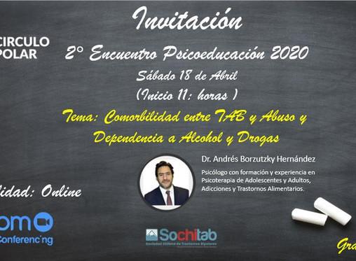 2da Sesión online de Psicoeducación Circulo Polar 2020