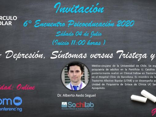6ta Sesión online de Psicoeducación Circulo Polar 2020