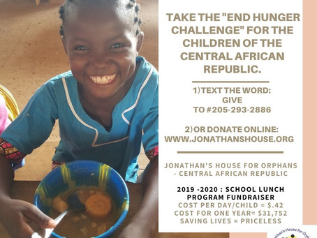 It's the End Hunger Challenge!