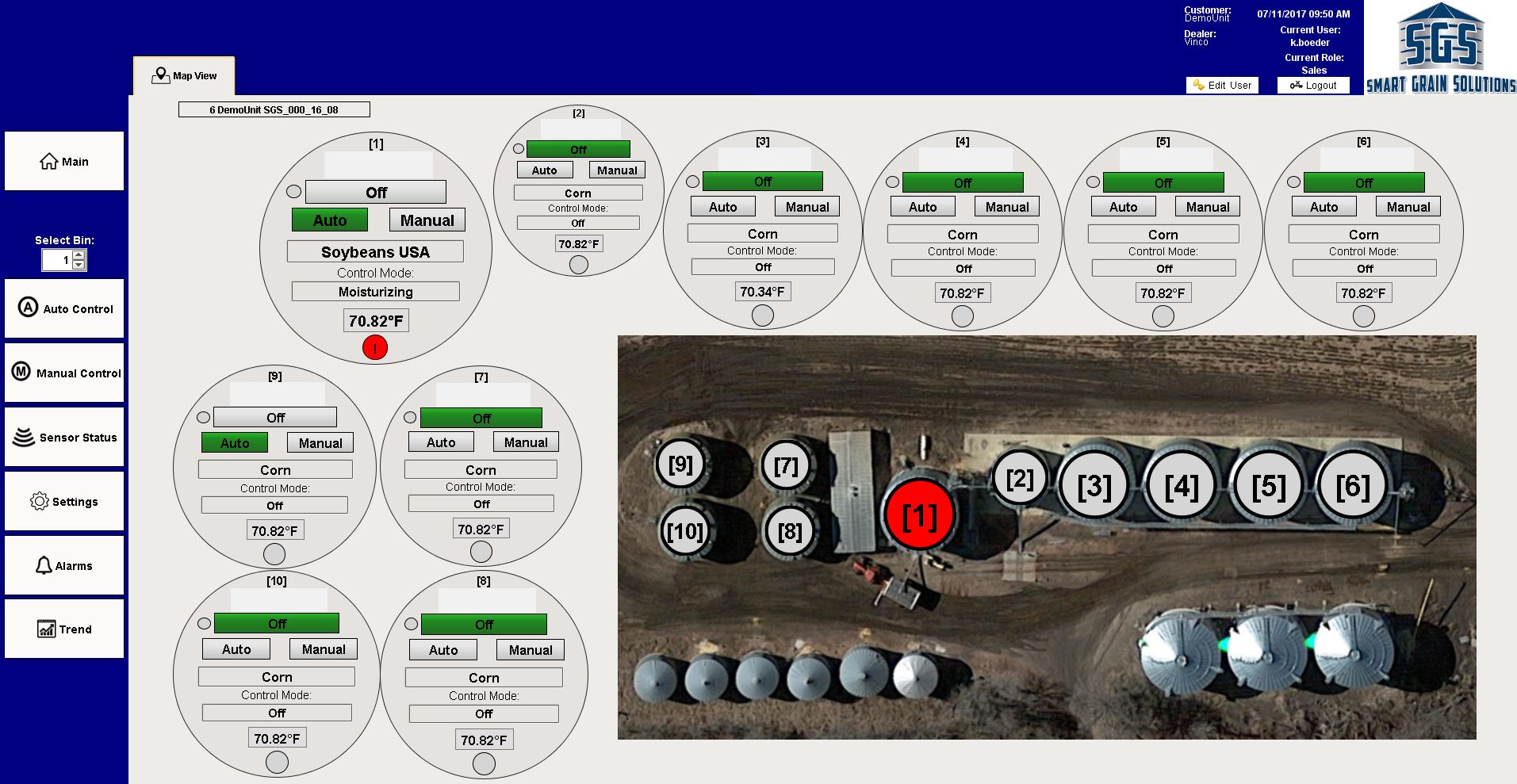 Ignition Site View Alarm