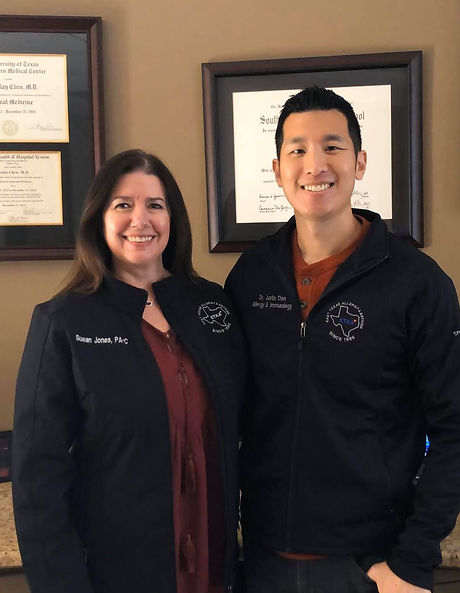 Justin Chen, MD and Susan Jones, PA-C