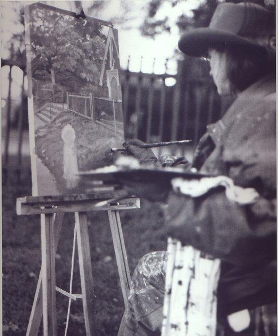 Elizabeth Jackson Hall, artist, painter