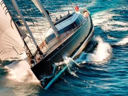 Sailing Yacht Kokomo III - Underway at Sea