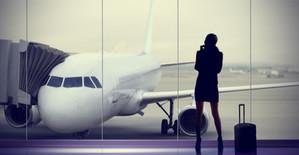 WomanAloneAirport