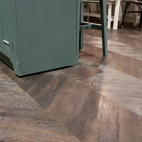 CAN I FLOW LVT THROUGHOUT?