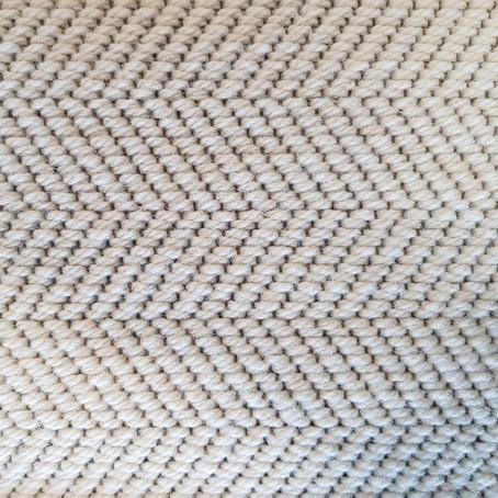 THIS MONTH WE LOVE: HERRINGBONE FLATWEAVE