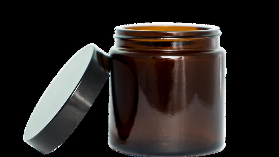 Tinted glass coffee bean jar - 50g