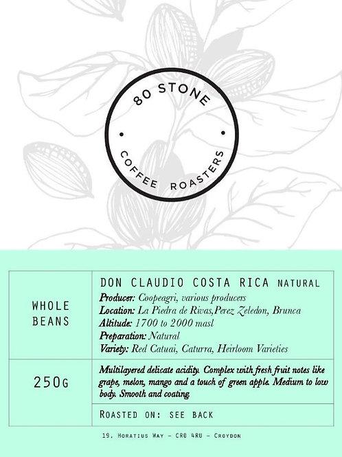 80 Stone Coffee Roasters - Costa Rica: Don Claudio