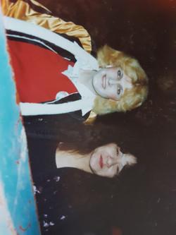 Karen & late Romina