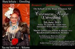 Carmen's Unveiling