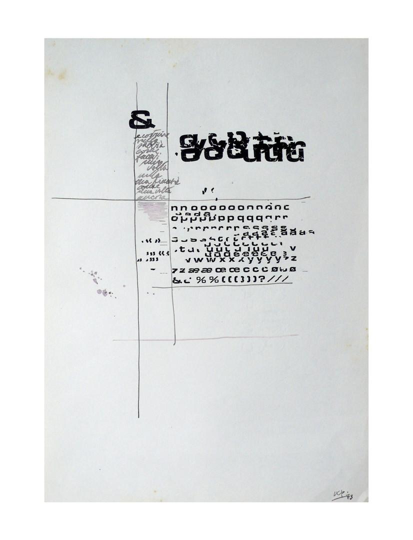 impaginazione - 1973