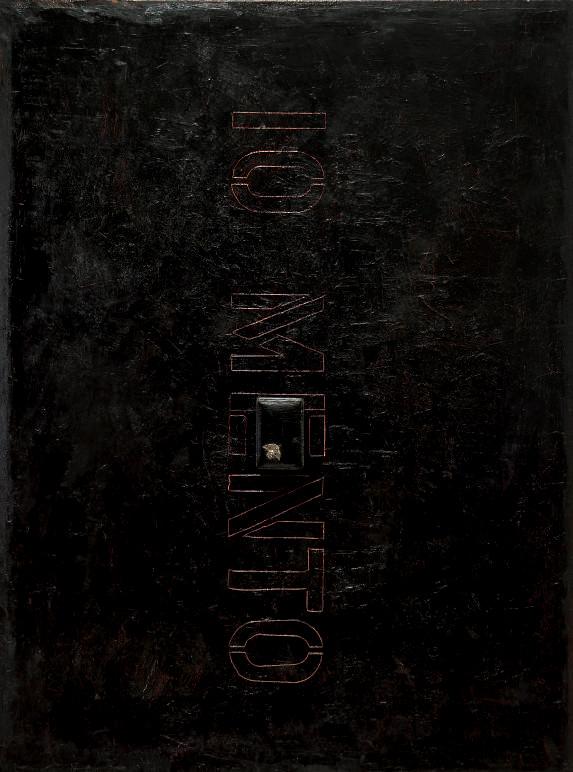 olio su tela e collage - 2004