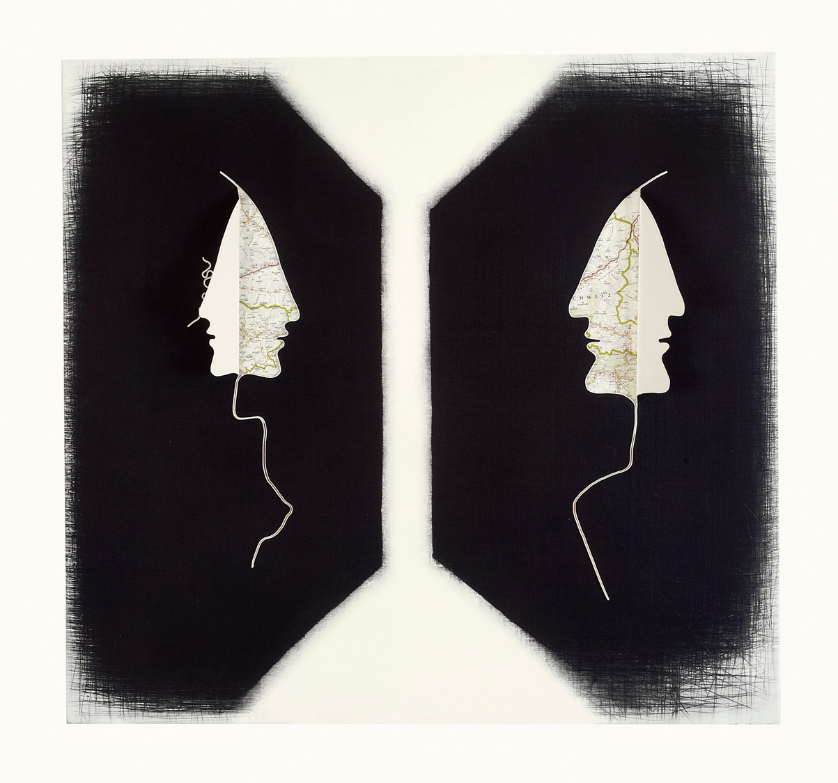 Dialogo assente - 110 x 115 cm